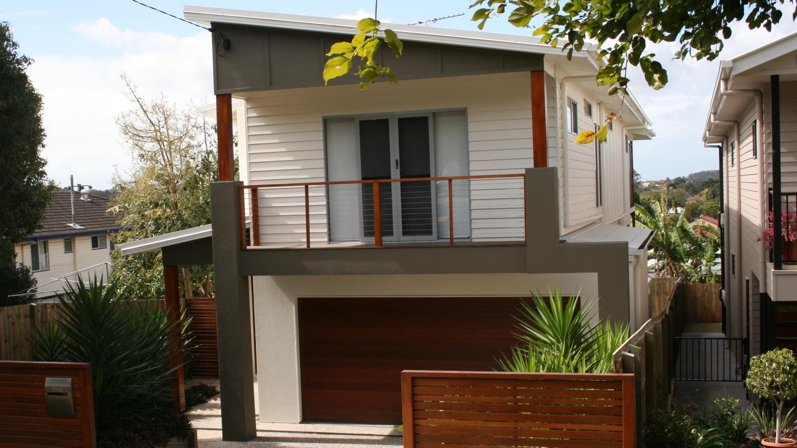Alan Brind Design  CAD Drafting About Us - House design with garage underneath